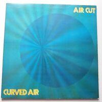 Curved Air - Air Cut Vinyle LP GB 1er Press A1/B1 Wb Vert Étiquette Prog Ex Ex +