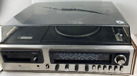 GE SC32058 stereo with phono, 8 track am fm For Parts Or Repair