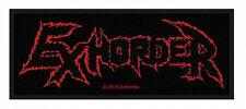 EXHORDER - Logo Patch Aufnäher 10x4cm