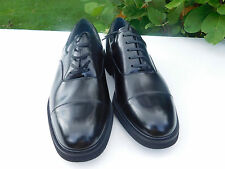 NWTS STAFFOPRD MENS DUNCANBLACK LEATHER SHOES SIZE 12 D