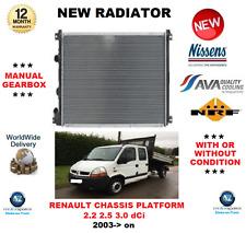 Per RENAULT MASTER TELAIO ed HD 2.2 2.5 3.0 DCI 2003 > NUOVO RADIATORE OE Quality