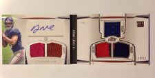 Ryan Nassib Book Auto Relic Patch #14/15 2013 Topps Prime Level II RC Giants