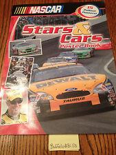 NASCAR STARS & CARS POSTER BOOK