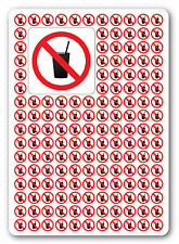 NO DRINKS / DRINKING, health and safety signs, warning, first aid 100No 75x75mm