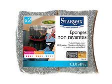 STARWAX 2 EPONGES NON RAYANTES CUISINE