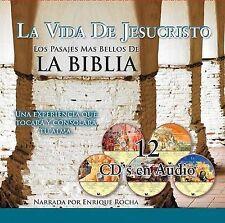 NEW La Vida De Jesucristo/Spanish/Audio CD (Spanish Edition) by Enrique Rocha