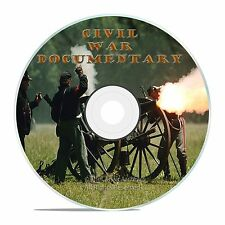 CIVIL WAR DOCUMENTARY, ABE LINCOLN BIOGRAPHY, CIVIL WAR 1930-50's FILMS DVD-J50