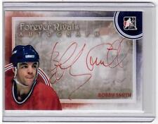 BOBBY SMITH 11/12 ITG Forever Rivals Auto Autograph BS Montreal Canadiens Red