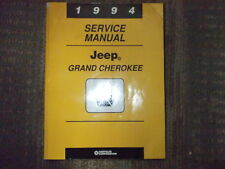 1994 JEEP GRAND CHEROKEE Shop Service Repair Workshop Manual FACTORY OEM
