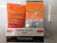 Neutrogena Rapid Clear Pack Face Lotion/ Foaming Scrub