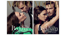 VOGUE Paris December 2013/January 2014,Victoria David Beckham  COVER 1 & 2 NEW
