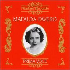 Mafalda Favero 1903-1981, New Music