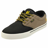 Etnies Jameson 2 Eco Mens Black Olive Textile & Synthetic Skate Trainers