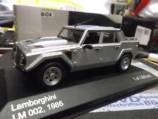 LAMBORGHINI V12 SUV LM 002 LM002 silber silver 1986 NEW IXO White Box 1:43