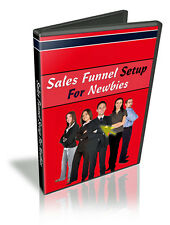 Setup Sales Funnels Easily - VIDEO Series Reveal How To Cash In On Internet (CD)
