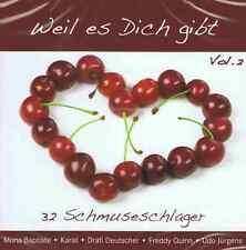 Weil es Dich gibt Vol.2 - 2 CD NEU Bata Illic Caterina Valente Ivo Robic
