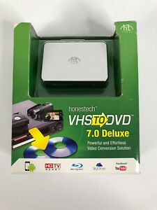 Honestech VHS to DVD 7.0 Plus Converter USB Included | Powerful And Effortless