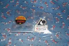 Two NOS Pins Pinbacks  Kodak Processing Labs 2000 Fujifilm Certified Advances ph