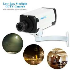 AHD 720P 1500TVL Full Color Low Lux Starlight Night View CCTV Security Cam G6B9