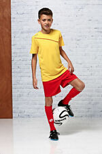 Maillots de football jaune, taille XL