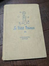 Le Petit Prince - Educational Edition by Miller 1946 Riverside Press