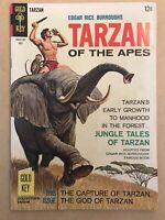 TARZAN #169 | TARZAN OF THE APES | Gold Key Comic Book - 1967 | HIGH GRADE 🔥