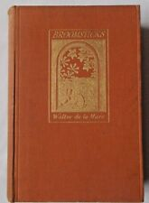 BROOMSTICKS & Other Tales by Walter de la Mare 1925. 1st/1st HB. Designs by Bold