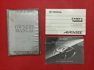 1997 -2001 Toyota Yaris Owners Manual Handbook, Service Book Wallet Print 1997