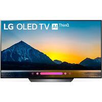 """LG OLED55B8PUA 55"""" Class B8 OLED 4K HDR AI Smart TV (2018 Model)"""