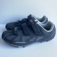 Louis Garneau Cycling Shoes HRS-80 black / Gray Size 45 USA 10.75 - VP-C51 Cleat