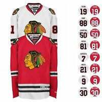 2016-17 Chicago Blackhawks REEBOK NHL Premier Player Jersey Collection Men's