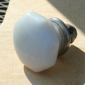 """Vintage Octagon Milk Glass 2 ¼"""" DOOR KNOB"""