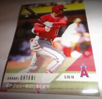 SHOHEI OHTANI, RC, LOS ANGELES ANGELS, 2018 TOPPS NOW #51==DH & PITCHER