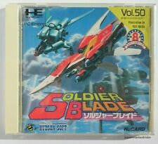 Used Soldier Blade PC-Engine Hu card Operation confirmed HUDSON Japan