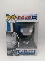 Funko Pop Vinyl - War Machine - 128 - Marvel - Captain America