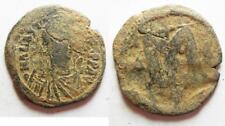 Zurqieh -aa8376- Byzantine. Anastasius Ae Follis