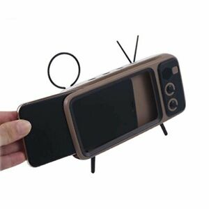 Wireless Bluetooth Speaker With Mobile Phone Tv Holder Portable Wireless Speaker
