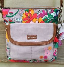 SAKROOTS Flap Crossbody LILAC FLOWER POWER 106248 New!