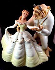 Lenox Love'S Timeless Tale Beauty & Beast Anniversary Disney Figurine Box & Coa