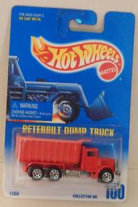 Peterbilt Dump Truck Construction Hot Wheels Main Line 1995-100 Basic Issue