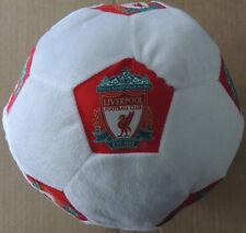 Liverpool Plush Soccerball Soft Cushion | 22 cm Round Filled | Liverpool Logo