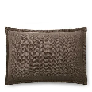 Ralph Lauren Modern Icons Roth Maynor Herringbone Standard Sham