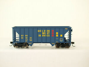 Walthers H0 932-7416 Greenville 100 Ton Twin Hopper Golden West #629625 in OVP