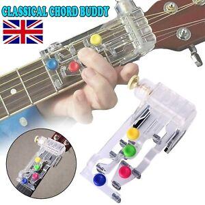 UK Classical Chord Buddy Guitar Learning System Teaching Aid Chordbuddy Unit Kit