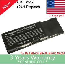 9CELL BATTERY FOR DELL PRECISION M6400 M6500 C565C 8M039 F678F DW554 P267P 7.8AH