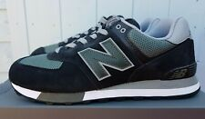 New Balance ML574 FNA Trainers Black and Green Uk 9