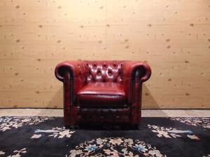 Antique Chesterfield British Chair