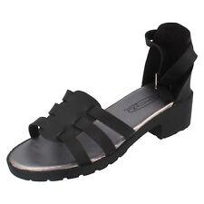 SALE Girls Spot On Gladiator Summer Sandals - H1072