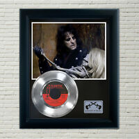 "Alice Cooper ""Welcome To My Nightmare"" Framed Record Display"
