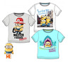 Boys Kids Official Licensed Minions Despicable Me Short Sleeve T Shirt Top